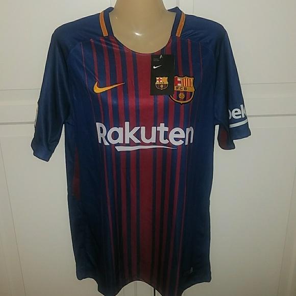 huge discount 51536 7372b NWT Men's Lionel Messi Rakuten Jersey Size L
